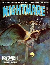 Buy Nightmare Magazine 23 Issue Collection Horror Comics On PDF Disc Free Shipping