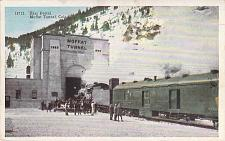 Buy East Portal Moffat Tunnel, Colorado With Steam Engine Vintage Postcard