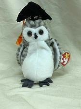 Buy Beanie Baby Wiser the Owl With Tag and Tag Protector TY 1999