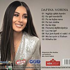 Buy Dafina Morina - Live (2019). CD with Albanian Kosovo Pop Folk Music.