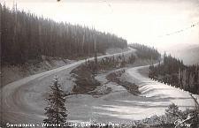 Buy Switchbacks, Western Slope, Berthoud Pass Real Photo RPPC Vintage Postcard