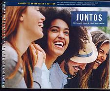 Buy Juntos, Student Edition: A Hybrid Approach to Introductory Spanish, Spiral bound