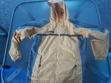 Buy **COLUMBIA Yellow/Grey Nylon Windbreaker RAIN JACKET Coat Size 18/20 YOUTH *EUC*