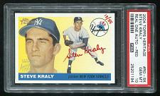Buy 2004 TOPPS HERITAGE REAL ONE RED AUTO STEVE KRALY PSA 10 GEM MINT (25201194)
