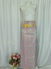 Buy Myanmar Traditional Fashion Fabric for Clothing Dress Long longyi Skirt LY7