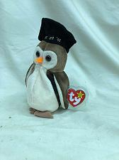 Buy Beanie Baby Wiser the Owl With Tag and Tag Protector TY 1998