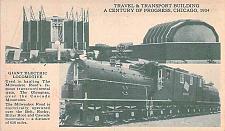 Buy Milwaukee Road, Electric Locomotive Century of Progress,Chicago Vintage Postcard