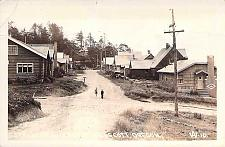 Buy Street of Cottages, Nelscott, Oregon Real Photo Vintage Postcard