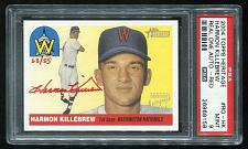 Buy 2004 TOPPS HERITAGE REAL ONE RED AUTO HARMON KILLEBREW PSA 9 MINT (26968158)