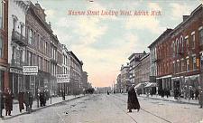Buy Maumee Street Looking West, Adrian Michigan Vintage Postcard