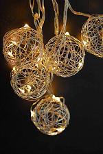 Buy :11030U - LED Wire Fairy Light Ball String Light 3ft