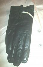 Buy Lucky Brand Women`s Black Leather Moto Gloves Size S