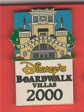 Buy Boardwalk Villas Resort WDW Authentic Disney Pin on card