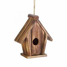 Buy *18412U - Classic Rustic Brown Fir Wood Birdhouse