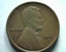 Buy 1911-S LINCOLN CENT PENNY EXTRA FINE+ XF+ EXTREMELY FINE+ EF+ NICE ORIGINAL COIN