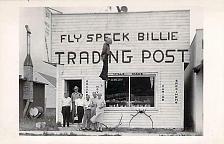 Buy Fly Speck Bille Trading Post Glacier National Real Photo RPPC Vintage Postcard