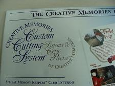 Buy Creative Memories Custom Cutting System Pattern And Sizing Templates Your Choice