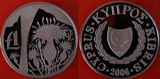 Buy ★FLOWER ★ CYPRUS★1 LIRA 2006. RARE!!! PROOF! LOW START! NO RESERVE!