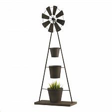Buy *18767U - Windmill Iron Plant Stand 3 Pot Steps