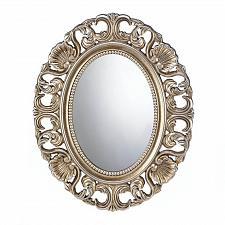 Buy *17055U - Gilded Golden Oval Frame Hanging Wall Mirror