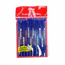 Buy Faber Castell 1423 Super Fine Ballpoint Pen 0.5mm Dark Blue Pack of 10