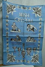Buy Irish Linen Tea Towel Blue Irish Crystal Types and How its made in Ireland e53