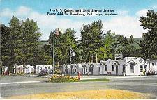 Buy Harley's Cabins and Shell Service Station Red Lodge Montana Vintage Postcard