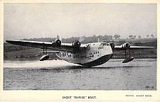 Buy British Short Empire Boat Pre WW II Valentines Vintage Postcard