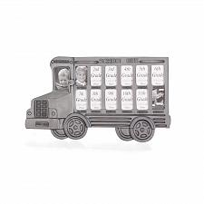 Buy 35239U - School Bus K-12 Pewter Wallet Size Photo Picture Frame