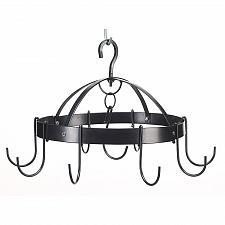 Buy 39003U - Space Saving Circular 8 Hook Metal Pot Utensil Hanging Holder
