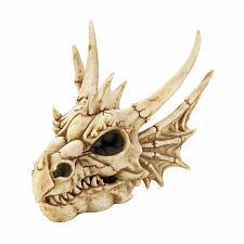 Buy *18449U - Dragon Skull Figure Trinket Box