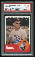 Buy 2012 TOPPS HERITAGE REAL ONE AUTO ELI GRBA, PSA 9 MINT (40778299)