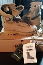 Buy BNIB Bates US Military Combat Boots 5.5R Gortex style #E3050C Hot Weather