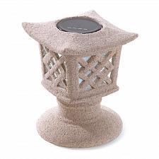 Buy 38992U - Solar Power Ceramic Garden Pagoda Light