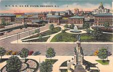 Buy N.Y., N.H.&H. Railroad Station, Providence, RI Vintage Postcard