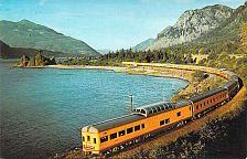 Buy City of Portland Union Pacific Domeliner Columbia River Railroad Postcard