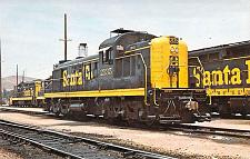 Buy Santa Fe Alco Hood Unit Locomotive, Barstow, Calif A.T.&S.F. Vintage Postcard