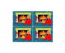 Buy 1948 American Lung Association Christmas Seals, Block of 4 Scott WX Mint F/VF NH