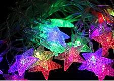 Buy 4M/20LED RGB LED String Flashing Star Islamic Light Outdoor Ramadan Eid Muslim