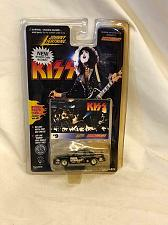 Buy Toy Car Kiss #9 Paul Stanley On Card Johnny Lightning 1997