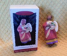 Buy Hallmark A Celebration of Angels Christmas Ornament W/Box 1st in Series!