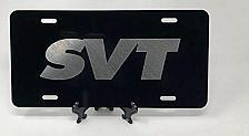 Buy Laser Engraved SVT Logo License Plate Car Tag Vanity Plate