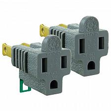 Buy GE® 54302 Grounded to Polarized Adapters, 2 pk