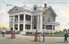 Buy 1907 South Carolina State Buildings Jamestown Exposition Unused Postcard