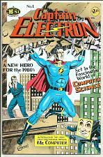 Buy Captain Electron #1 Jay Disbrow Brick Computer Science Institute COMICS 1986