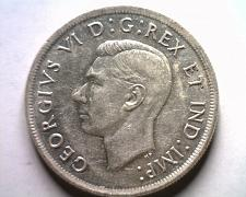 Buy 1939 CANADIAN DOLLAR GEORGE VI ABOUT UNCIRCULATED+ AU+ NICE ORIGINAL COIN