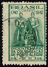 Buy Brazil #500 Pioneers; Used (0.25) (1Stars) |BRA0500-01XVA