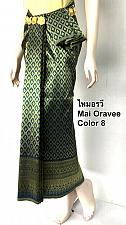 Buy Synthetic Silk Fabric for Thai Tradition Dancing Clothing Skirt Wedding dress