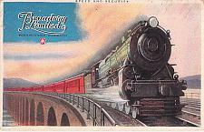 Buy The Broadway Limited, Pennsylvania Railroad Unused Vintage Postcard