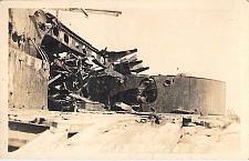 Buy US Navy Wreck After Battle Real Photo Vintage Postcard